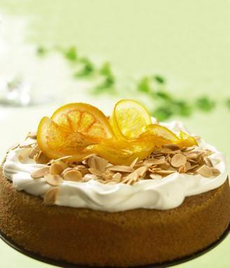 recipe-Mandel och Apelsinkaka