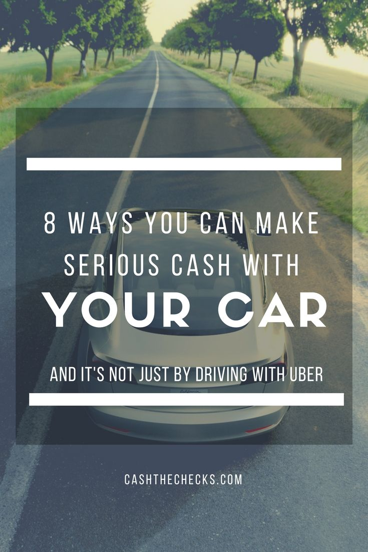 You have a sweet set of wheels, so why not earn money driving your car? Many people can earn a primary or secondary income by using their car, truck, or SUV in clever ways. However, it's not as simple as...Read more