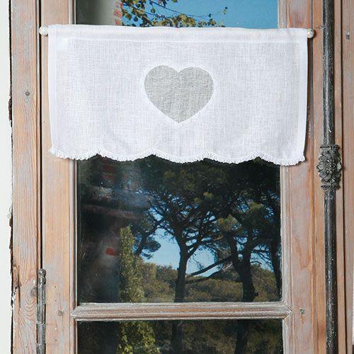 Cantonnière Ateliers du LAc blanc - Escapades Champêtres linge de maison décoration
