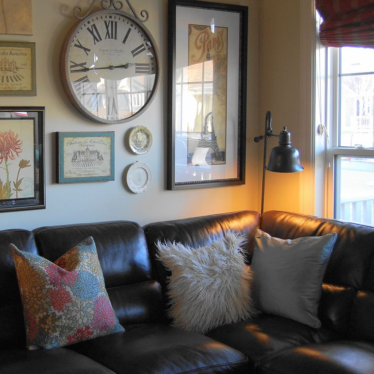 Beauty & The Beast: Decorating with a Sectional Sofa {5 Fab Examples}
