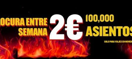 ÚLTIMA HORA: Oferta Ryanair vuelos a 2 euros