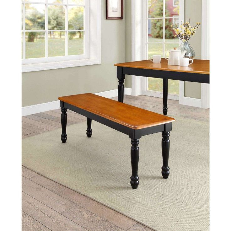 Perfect Better Homes And Gardens Autumn Lane Farmhouse Dining Bench    BDA1970B25A44C15B1CF2A65CD4FE44E