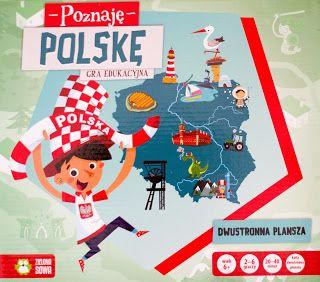 KSIĄŻECZKI SYNKA I CÓRECZKI :): Poznaję Polskę - gra edukacyjna