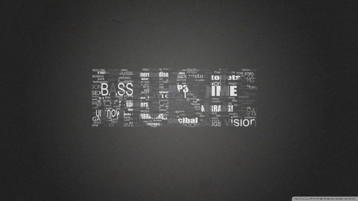 music-wallpapers: Music Typography ~ celwall.com Cool Wallpapers Inspiration