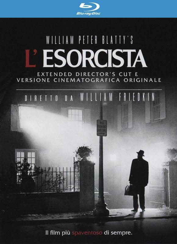 L'Esorcista (The Exorcist), di William Friedkin. Doppio Blu Ray contenente l'edizione cinematografica e l'edizione integrale.