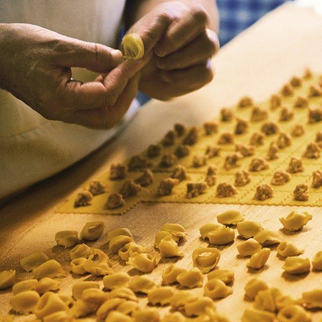 Pasta fresca a Bologna