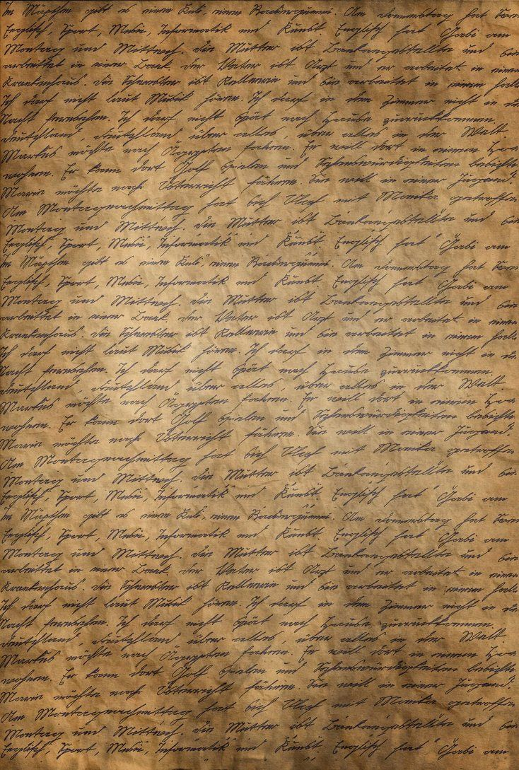 Customized writing paper textured