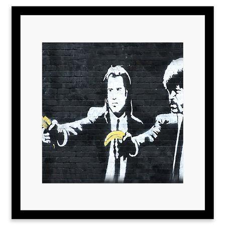 Die Besten 25 Banksy Pulp Fiction Ideen Auf Pinterest
