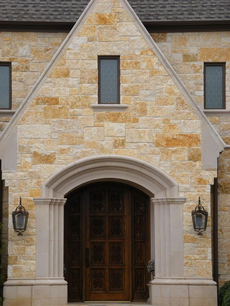 Austin stone done right architecture pinterest more for Exterior doors austin tx