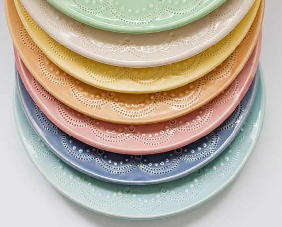 Custom Wedding Cake Stand  10 inch  color by vesselsandwares, $140.00