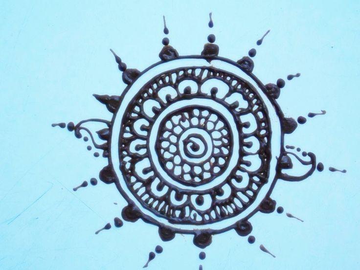 Mehndi Circle Meaning : Best henna circle images on pinterest tattoos