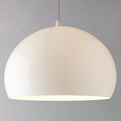 Buy Kartell FLY Ceiling Light, White online at JohnLewis.com - John Lewis Gift List