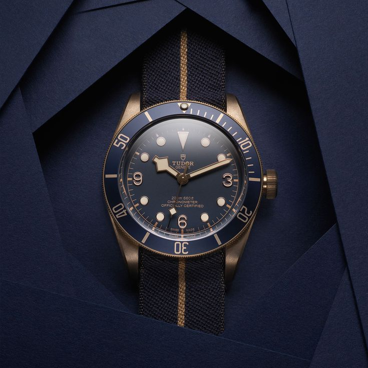 Introducing the Tudor Black Bay Bronze Blue Special Edition for Bucherer