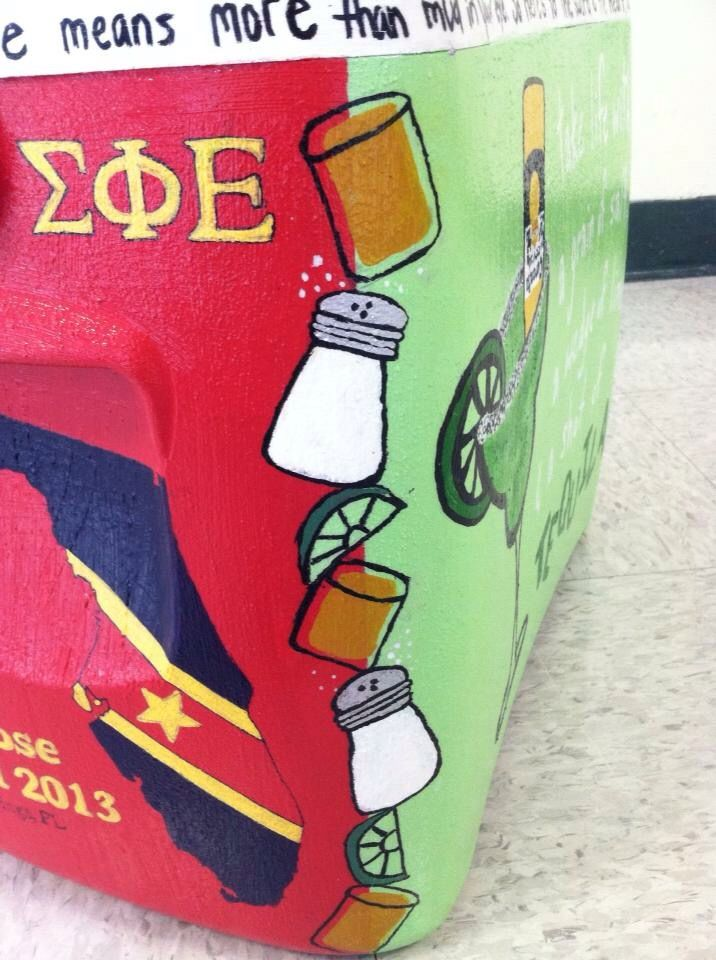 Tequila sigma phi epsilon SPE sigep cooler side alcohol