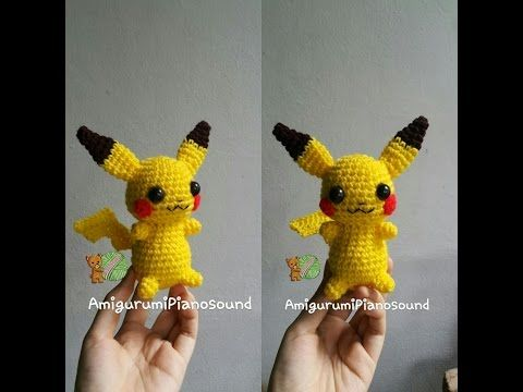 Pikachu Pokemon Crochet Tutorial - YouTube
