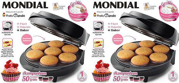 5 Receitas para fazer na máquina de cupcake imagem