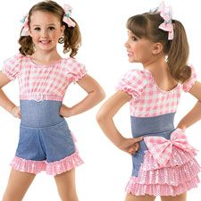 I am in LOVE with this dance costume for some of my little dancers!