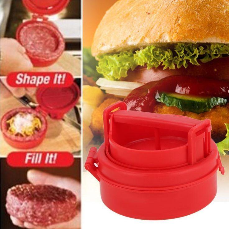 Stuffed Burger Press Hamburger Press Tool Grill Bbq Patty Makers Meat Burger Maker Mold Plastic Hamburger Press Burger Maker