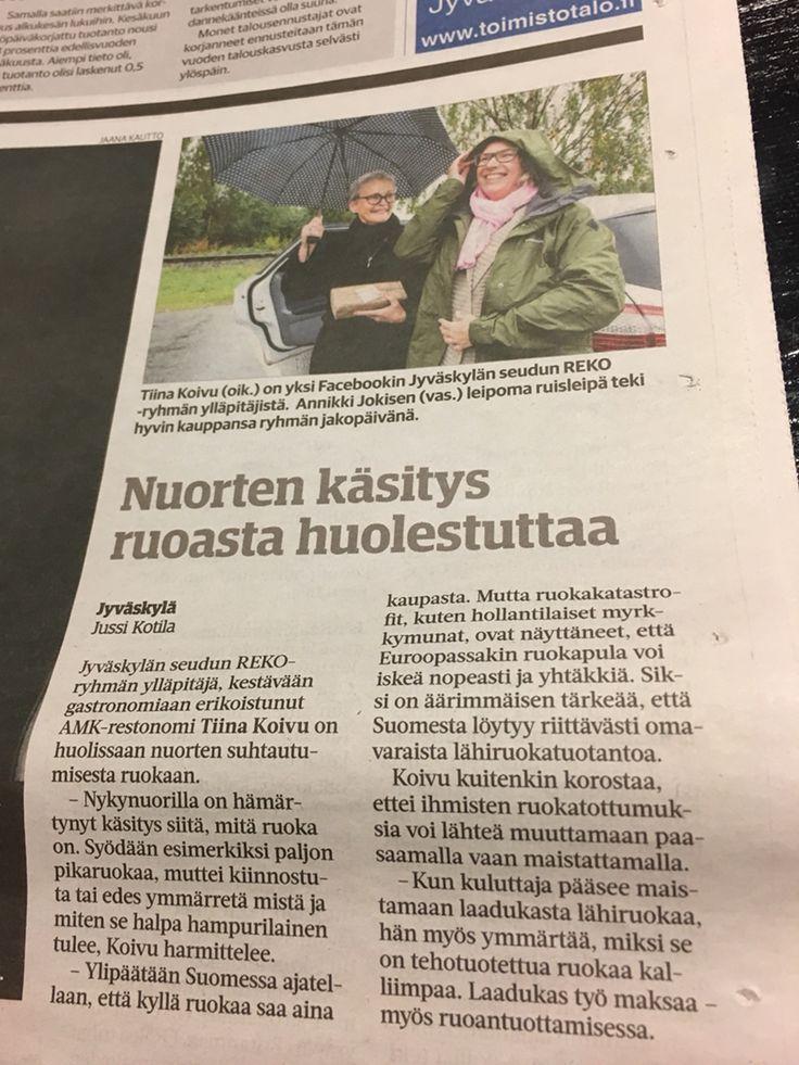 LÄHIRUOKA.REKO-LÄHIRUOKAPIIRI. RUOKATURVA