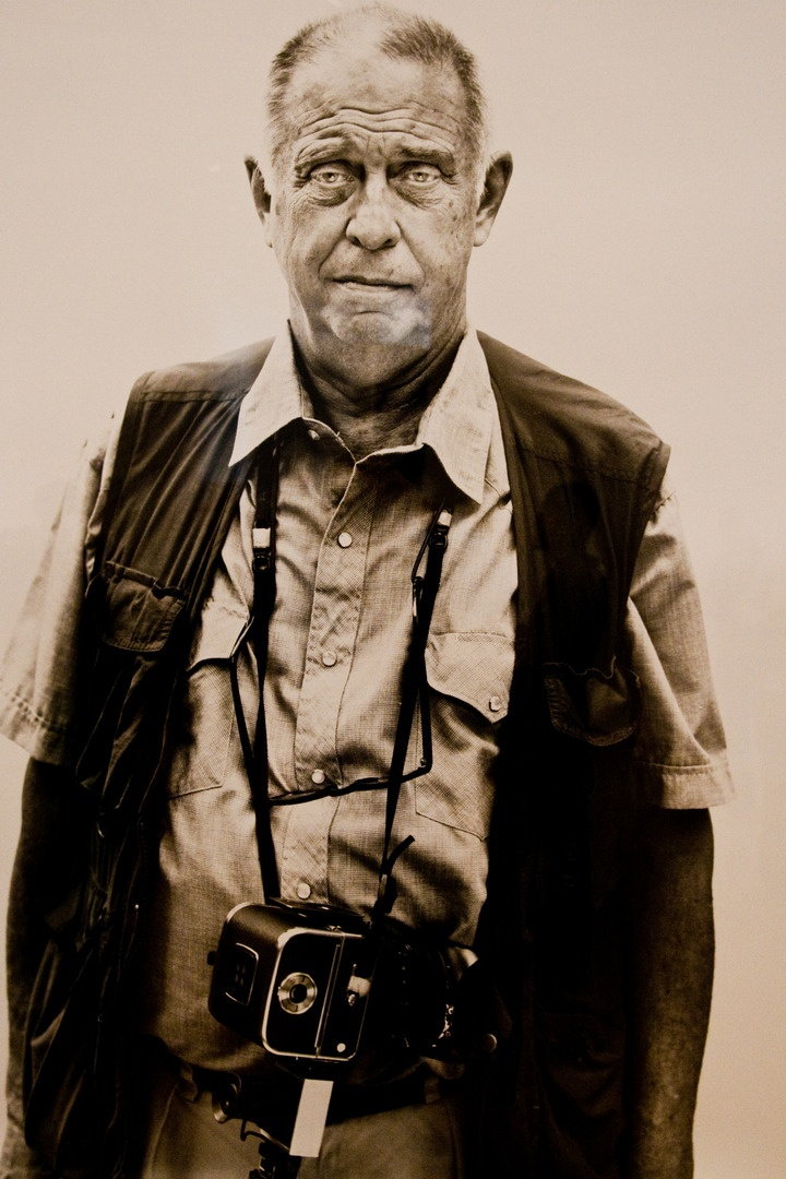 "Lee Friedlander photographed by Richard Avedon | Friedlander is "" an American photographer and artist. In the 1960s and 70s, working primarily with 35mm cameras and black and white film, Friedlander evolved an influential and often imitated visual language of urban ""social landscape,"" with many of the photographs including fragments of store-front reflections, structures framed by fences, posters and street-signs."""
