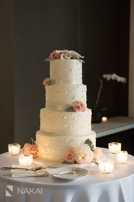 Nakai Photography. Waldorf Astoria Hotel. Vale of Enna flowers. Cake Flowers. Peony. Spray Rose. Mini Calla Lily. Garden Rose. Dusty Miller. Pink, Cream, and Grey. Chicago Wedding.