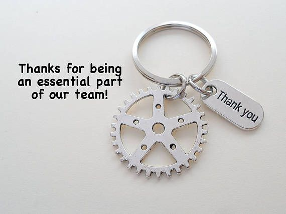 This listing is for 1 keychain. These are great gifts for your employees or coworkers. The keychain will be attached to a card that says Thanks for being an essential part of our team! There is a flat shipping rate on this item. So the shipping rate will be the same no matter how many you order at once! Check out my other employee appreciation keychain listings here: https://www.etsy.com/shop/JewelryEveryday/search?search_query=employee&order=date_desc&...