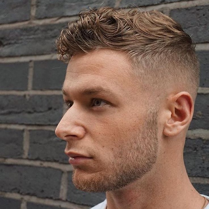 Rpb_nq High Fade Short Wavy Hair Hairstyle Men
