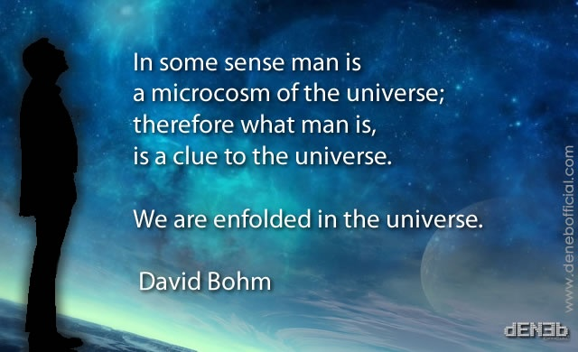 David Bohm: L'Uomo e l'Universo – David Bohm: Man and the Universe