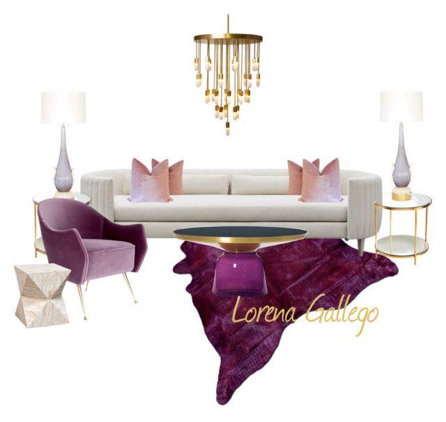 """Elegante Casual"" by lorena-gallego ❤ liked on Polyvore featuring interior, interiors, interior design, home, home decor, interior decorating, Shine by S.H.O, Emporium Home and Palecek"