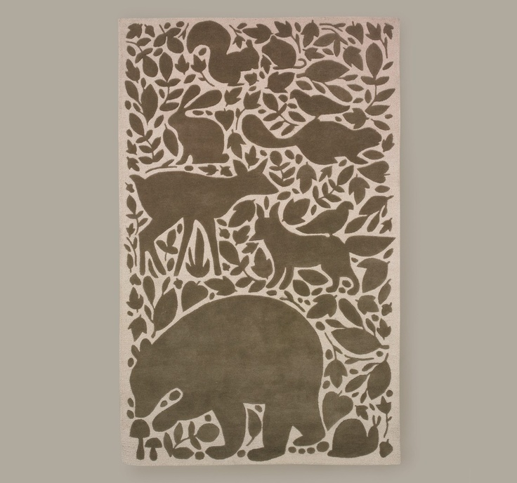 dwellstudio woodland tumble rug nursery kids rooms pinterest