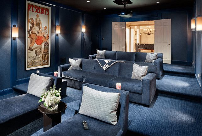 Unique Basement theater Ideas