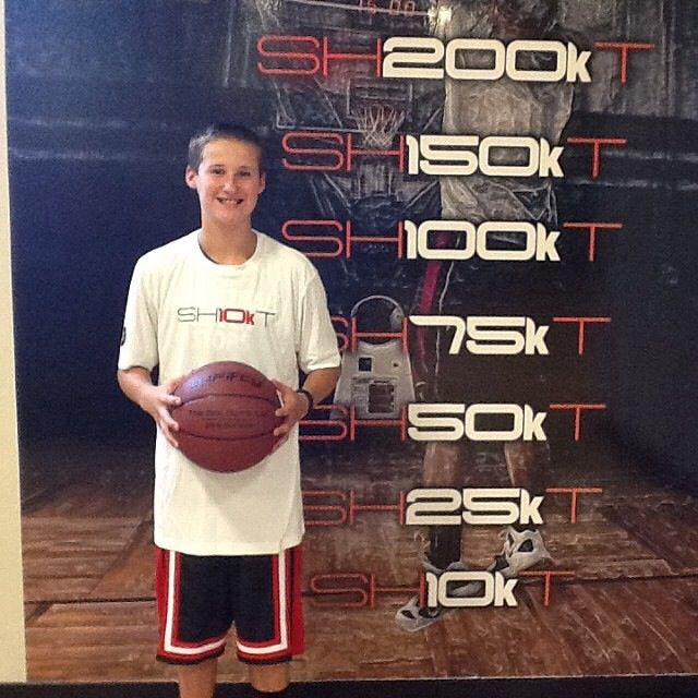 Congrats to @buckets032 for being our newest member to 10k shots made! #getbuckets #iAmArete #shoot360