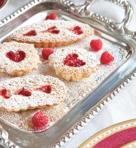 Raspberry-Almond Tea Cakes RECIPE / Tea Time Magazine