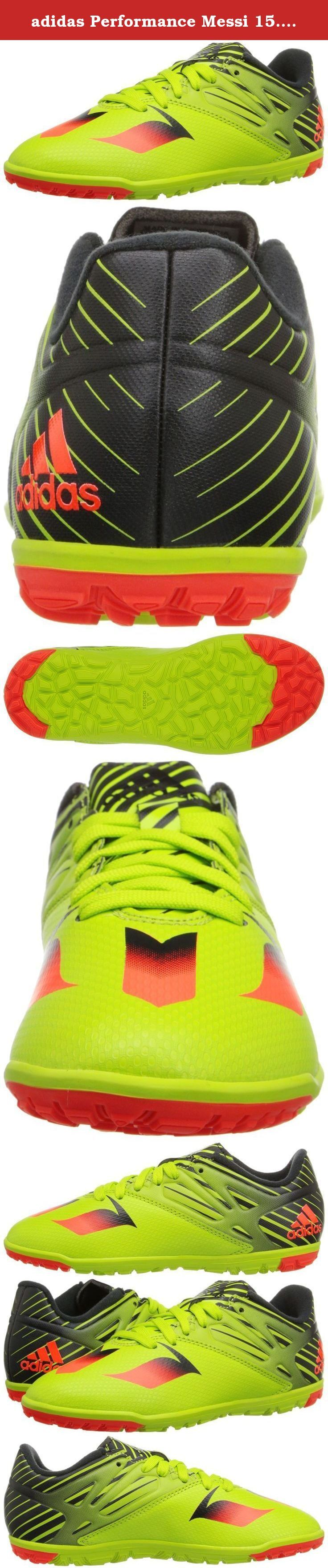 adidas Performance Messi 15.3 TF J Soccer Shoe (Little Kid/Big Kid). Messi never makes a move if it doesn't get him the goal. These junior boys' soccer shoes are made for the player who wants to win like Messi.