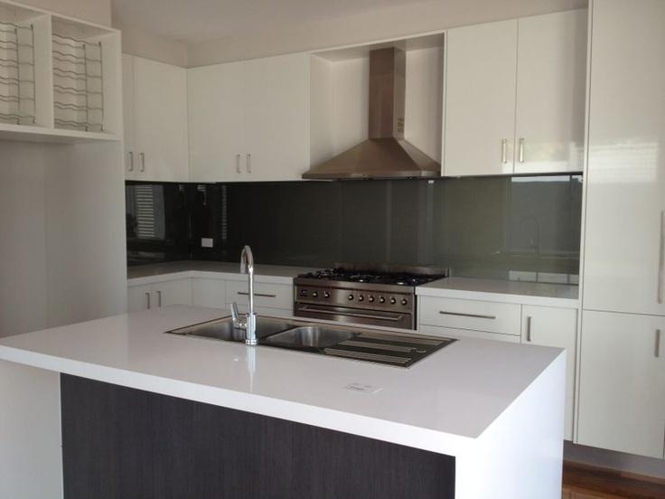 Kitchen with island bar