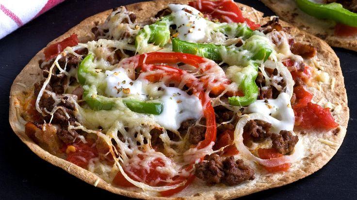Dette er den perfekte retten for deg som elsker taco og pizza, og vil lage det litt kjapt.