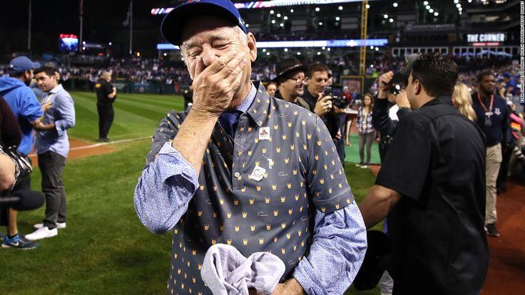 Did Bill Murray magic help Cubs win? #murray #magic