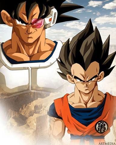 What if... #switchup  This looks so wrong in so many ways. Orange is not Vegeta's color.