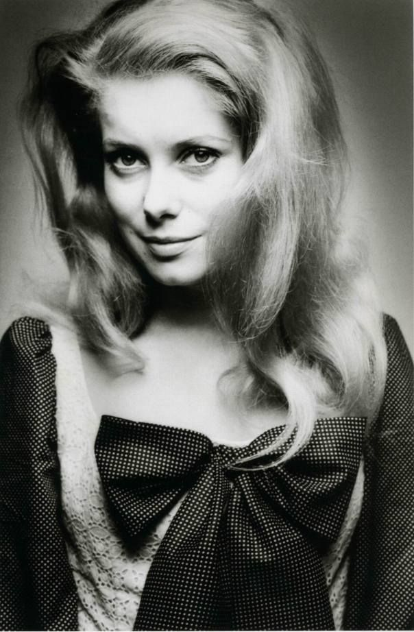 Catherine Deneuve (1943) - French actress. Photo Photo © Jeanloup Sieff, 1965