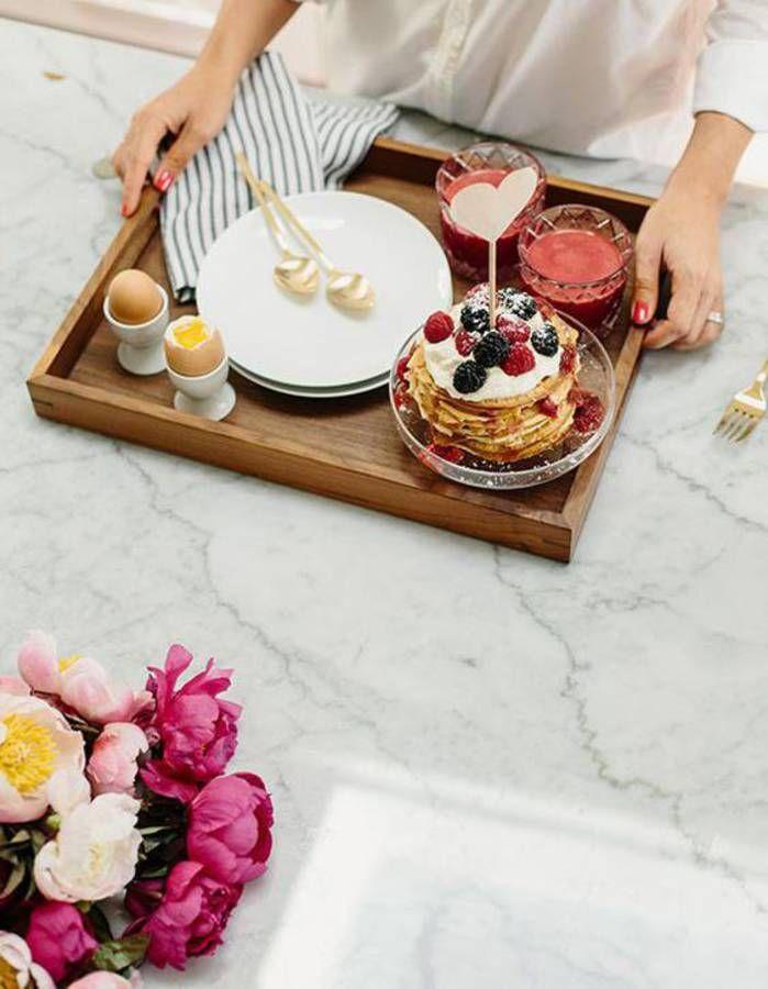 10 idées de petit-déjeuner romantique pour un réveil en douceur