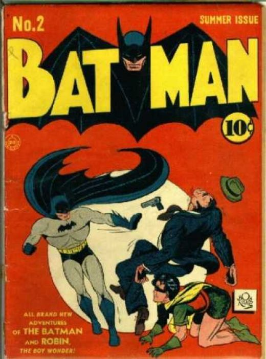 batman all comiic books photos | Golden Age Batman Comic Book Covers #1-5