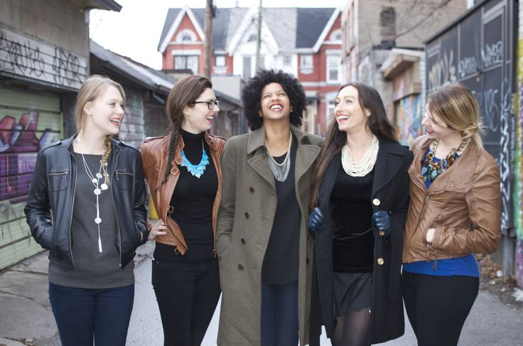 Rumours in the alleys of Toronto... jewellery c/o #YYZimports, babes courtesy of my FRIENDS :)