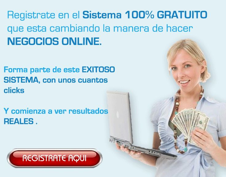 Gana muchos dólares con solo referir a muchos amigos es muy fácil y rápido con gananciaz.com   Aquí esta el enlace para que te registres... http://gananciaz.com/ganardinero/jorvihio