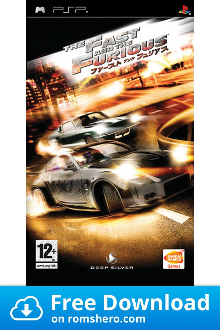 Download Fast And The Furious The Tokyo Drift Playstation Portable Psp Isos Rom Playstation Portable Playstation Psp