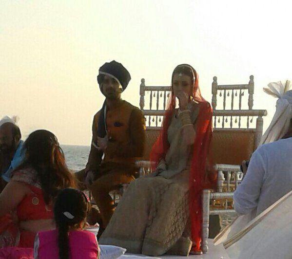 Latest pics from Sanaya Irani-Mohit Sehgal's wedding reception