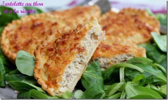 Quiche au thon - Les joyaux de sherazade : Recettes de cuisine, faciles et rapides
