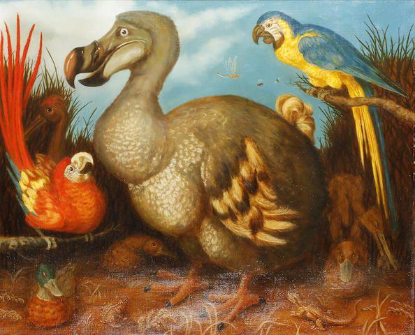 JONATHAN ADAMS (British, 20th Century) after Roelant Savery Edward's Dodo 1626