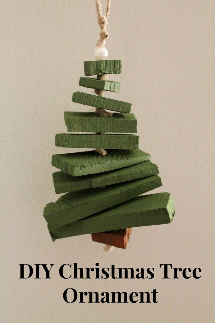 Handmade Christmas Tree Ornament - so cute!