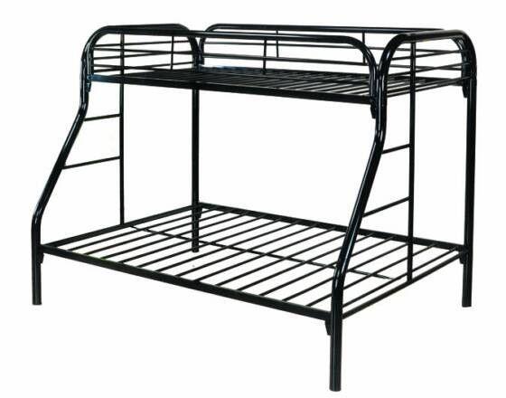 nice metal bunk beds - Metal Frame Loft Bed