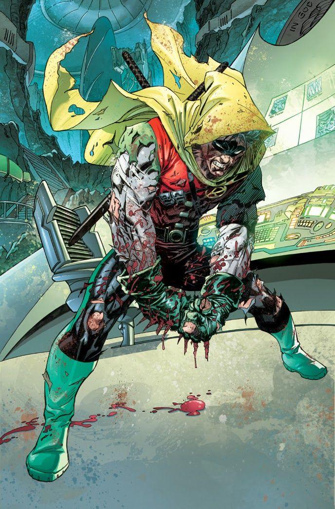 Damian: Son of Batman #1 art by Andy Kubert